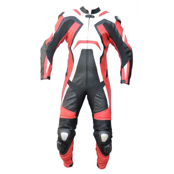 Motorcycle suit 1 piece AGM-1053 red